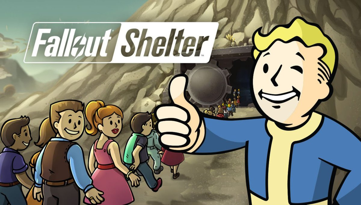 Build a shelter and protect your citizens from radiation with Fallout Shelter!