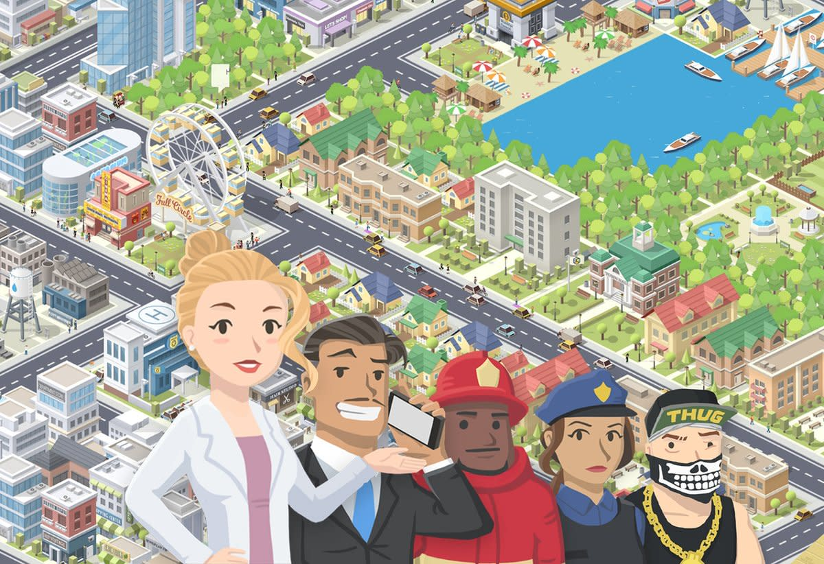 """Pocket City"" is a traditional city-builder for your mobile device; you can even have natural disasters!"