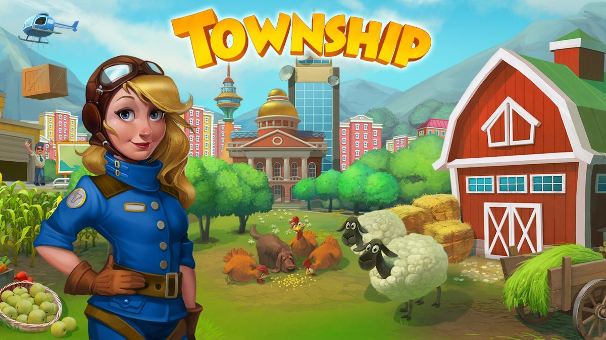 Township is definitely one of the most popular and best city-building games for mobile devices!