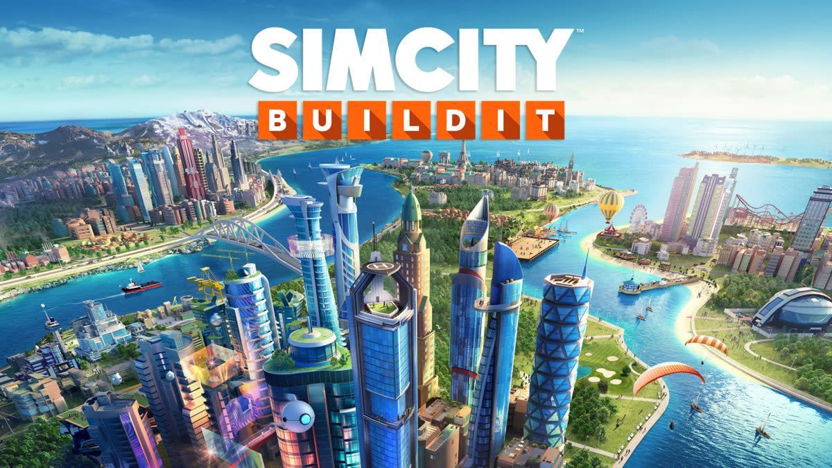 """SimCity BuildIt"" isn't as in-depth as the PC ""Sim City"" games, but it's still a great city-builder for mobile devices!"