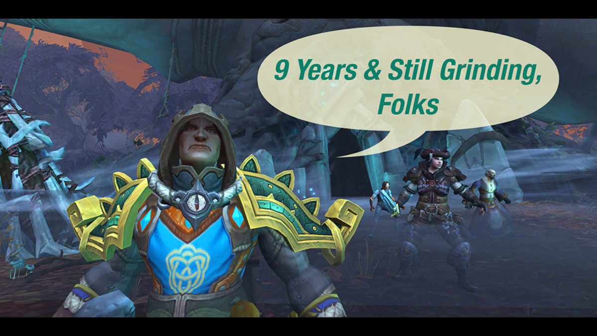 May 2019 marks the ninth anniversary of my first step into World of Warcraft.