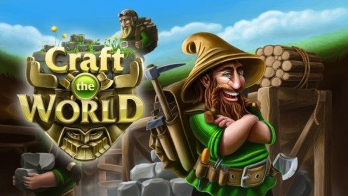 Craft the World for a colony of dwarves!