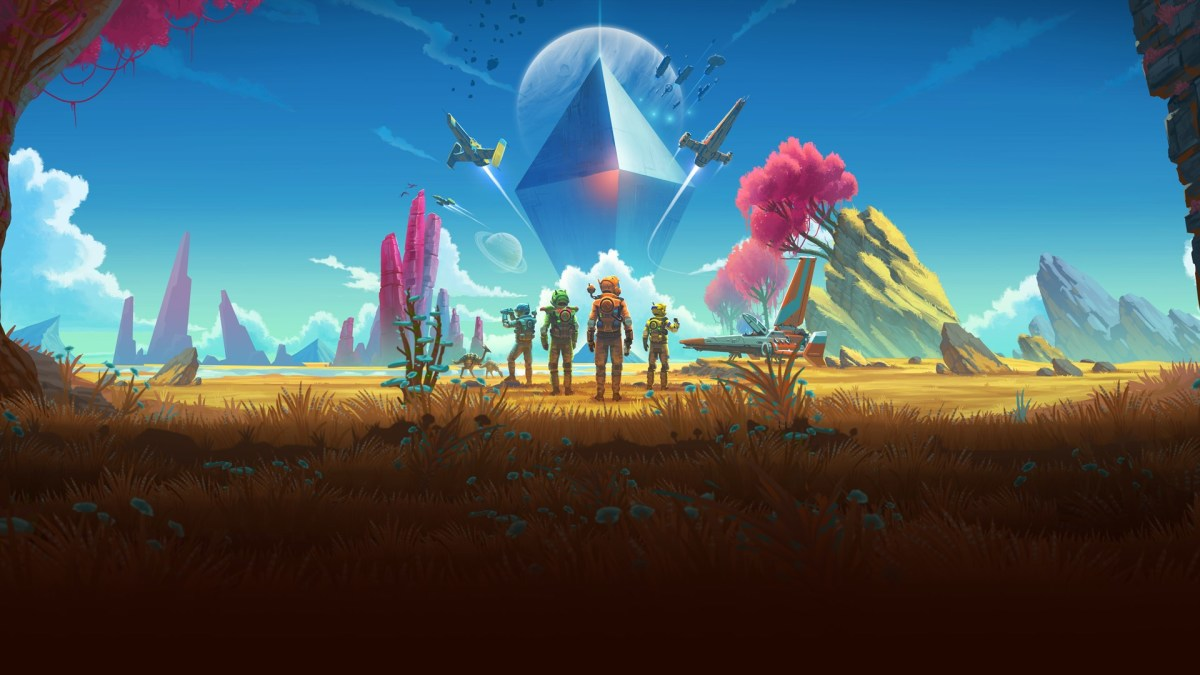 Craft and explore in space with No Man's Sky!