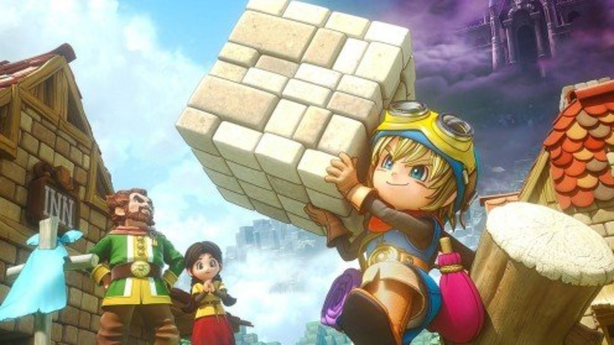 Dragon Quest Builders may look like Minecraft, but it offers a lot more story and objects to craft!