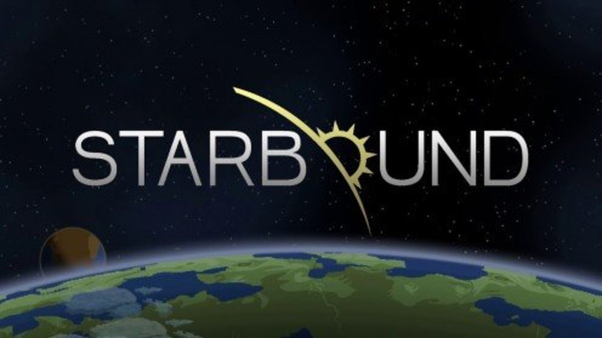 Starbound is another space-based crafting and exploration game!