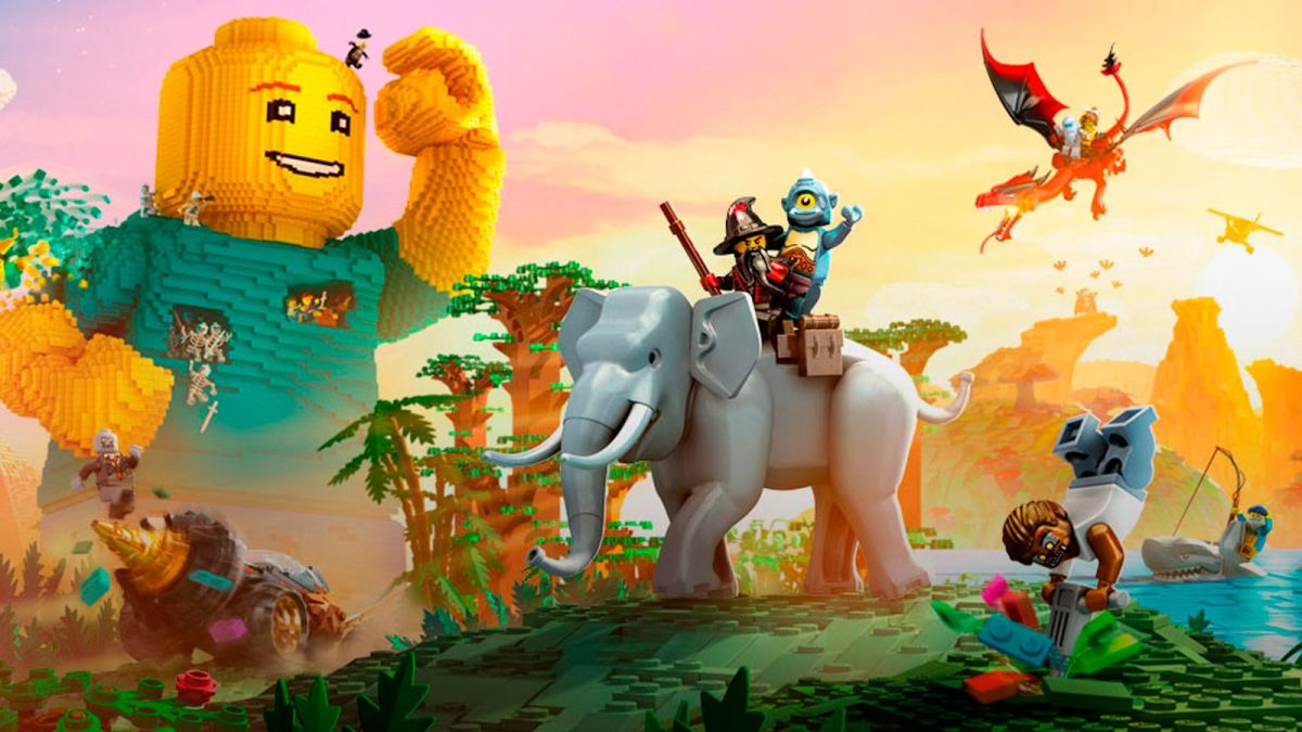 Create your own world with Legos!