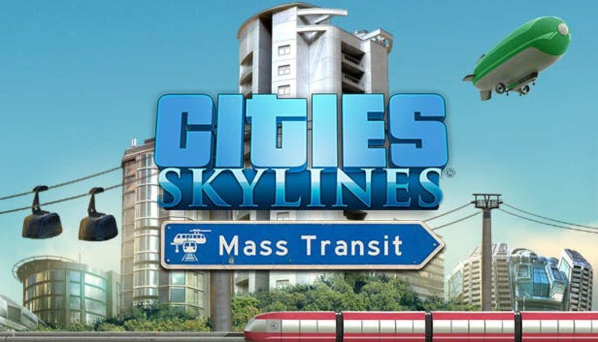 "Better planning for roads, additional public transportation options and more with the ""Mass Transit"" expansion pack!"