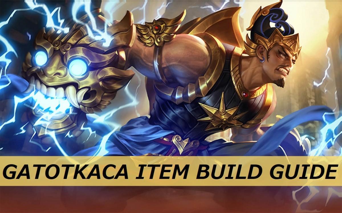 Mobile Legends Gatotkaca Item Build Guide