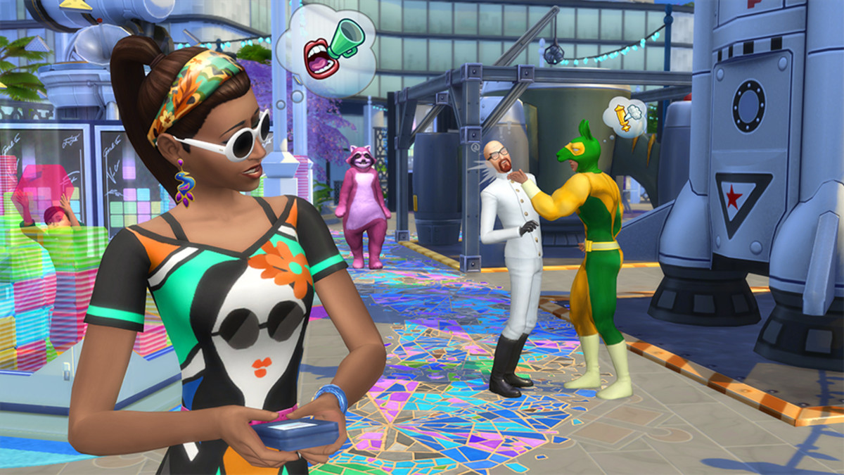 The Sims 4 Social Media Career