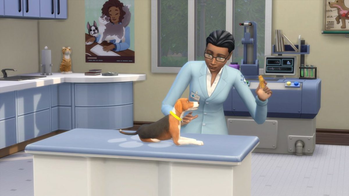 The Sims 4 Veterinarian Business Career
