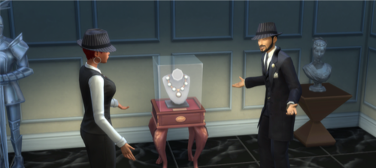 Crime pays in The Sims 4!