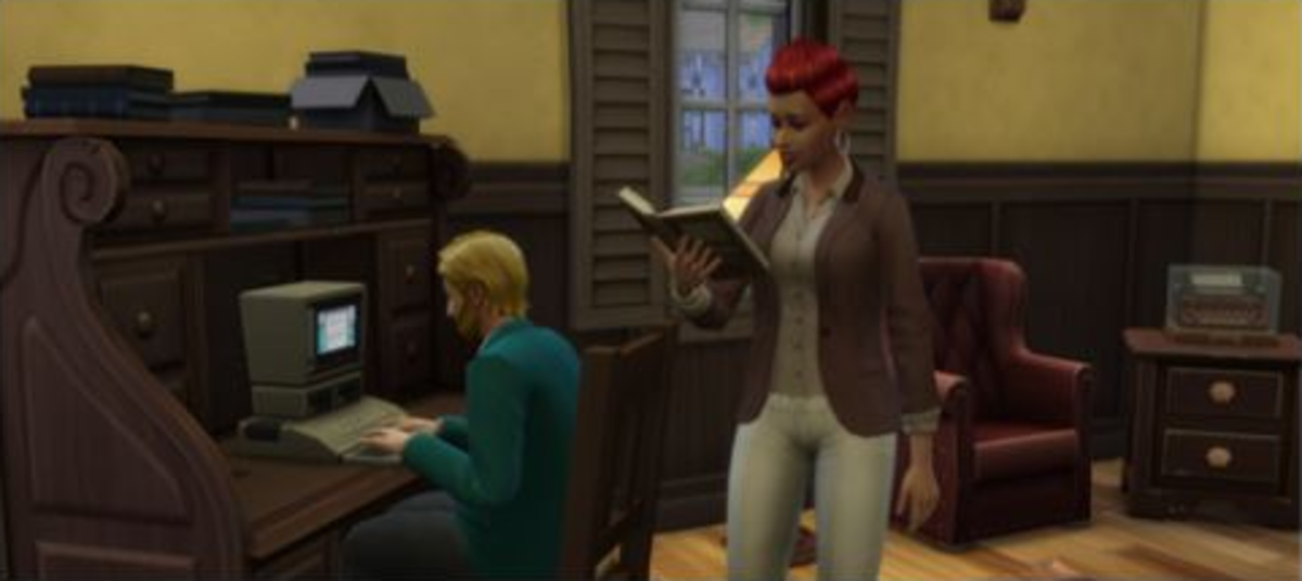 The Sims 4 Writer Career