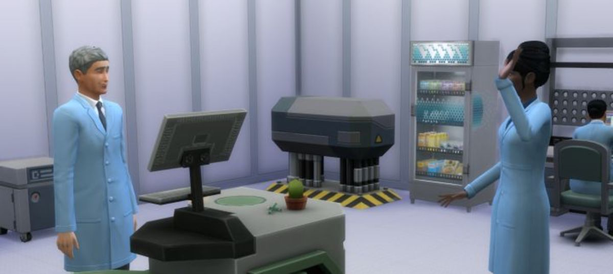 The Sims 4 Scientist Career