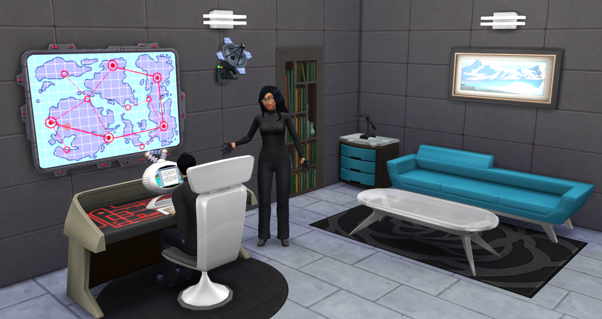 The Sims 4 Secret Agent Career