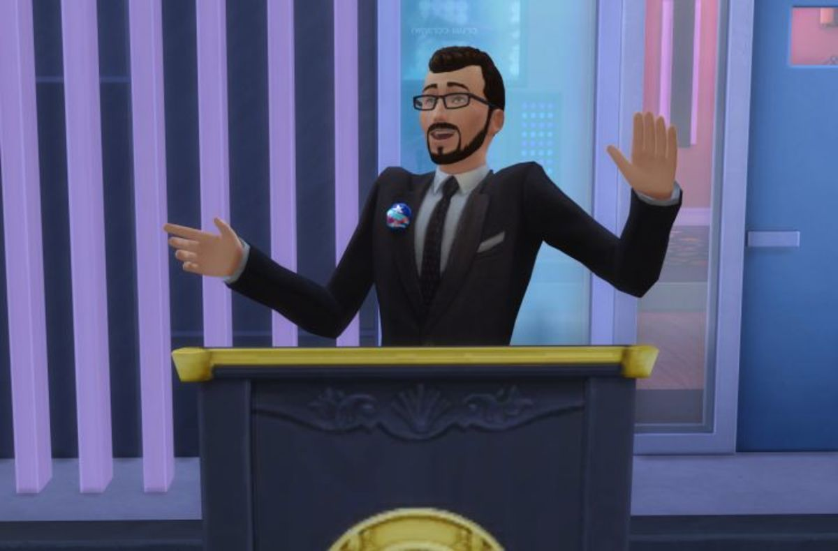 The Sims 4 Politician Career