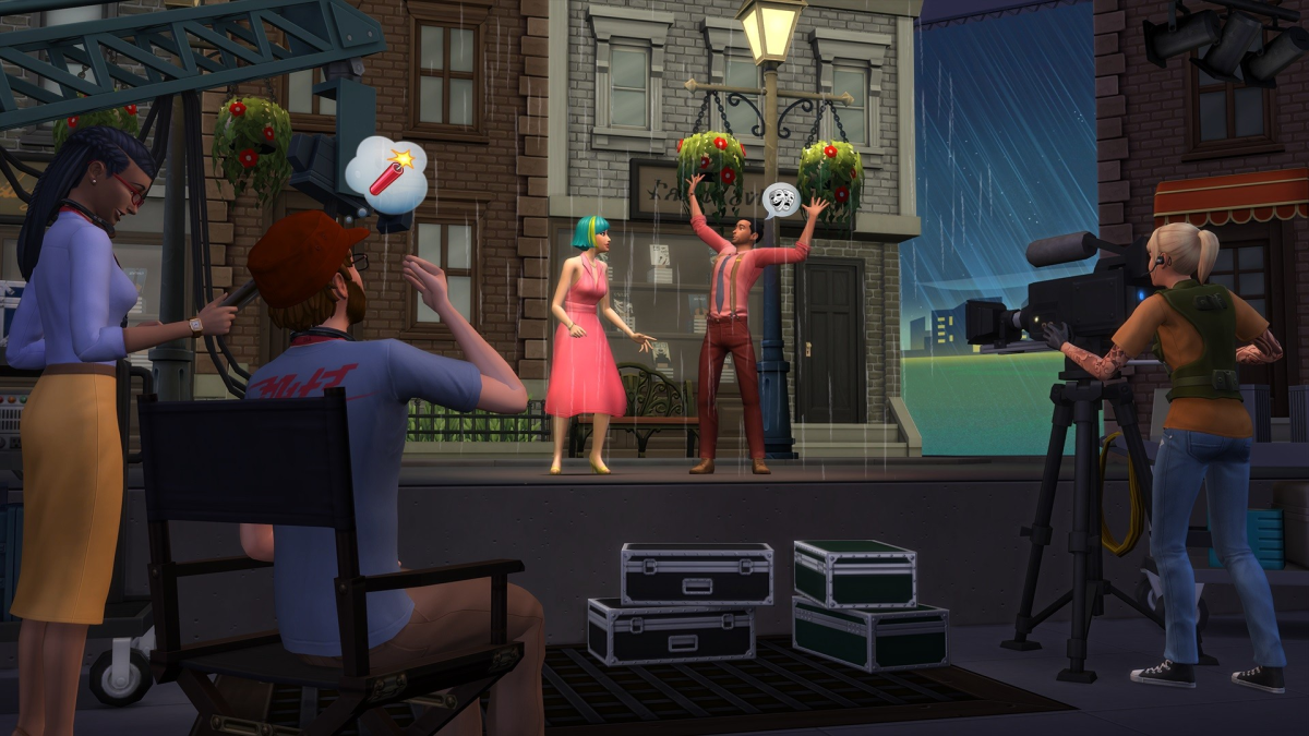 The Sims 4 Actor Career