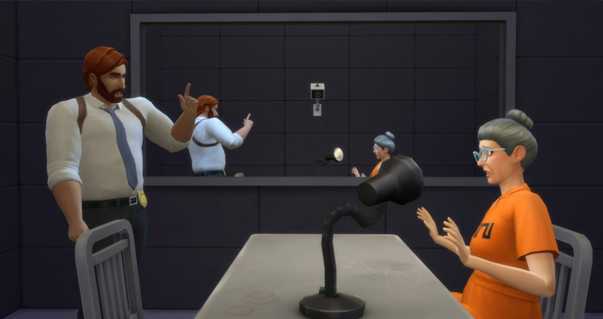 The Sims 4 Detective Career