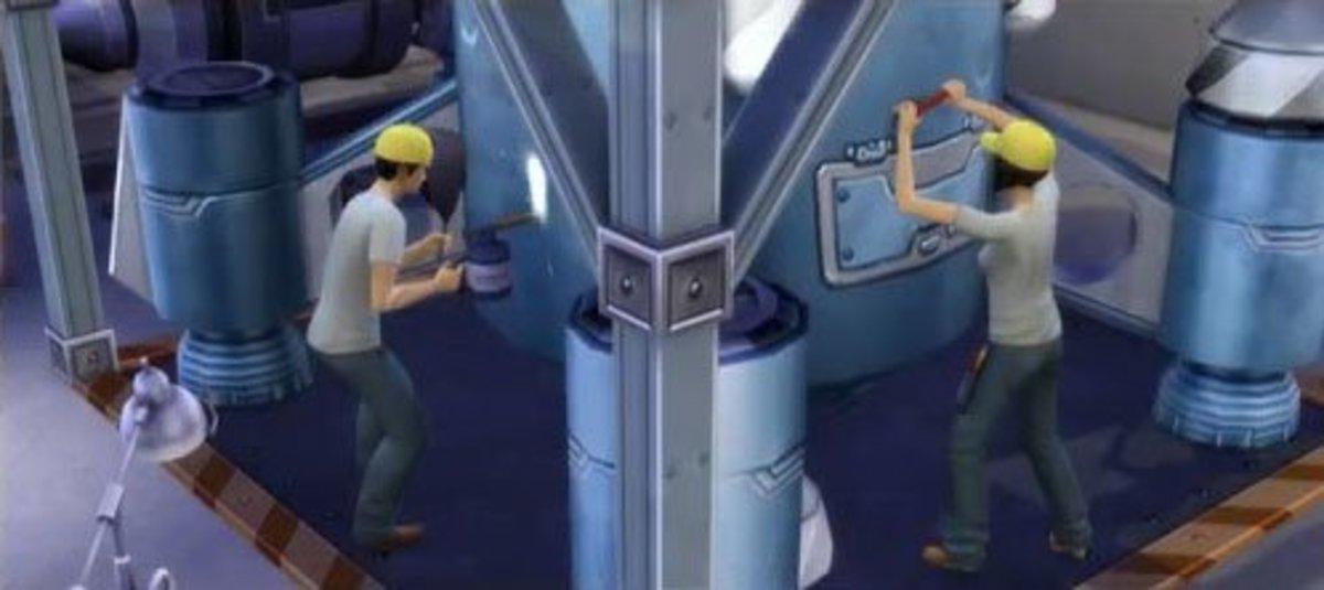 The Sims 4 Manual Laborer Job