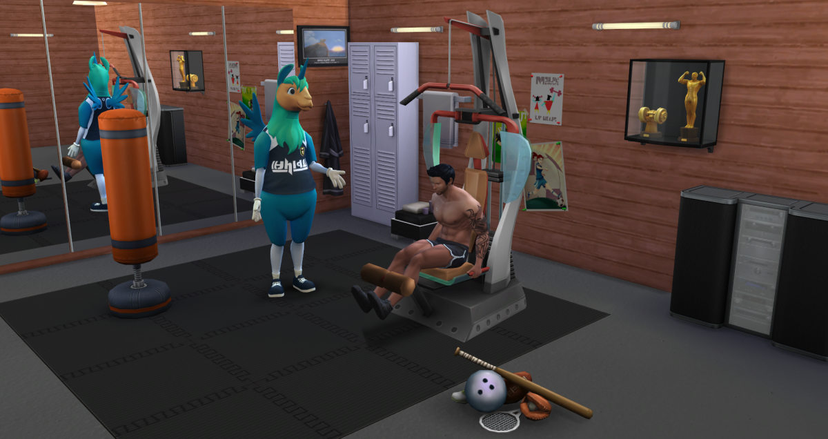 The Sims 4 Athlete Career