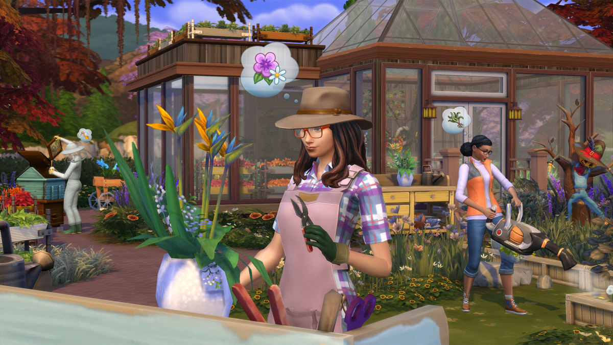 The Sims 4 Gardener Career