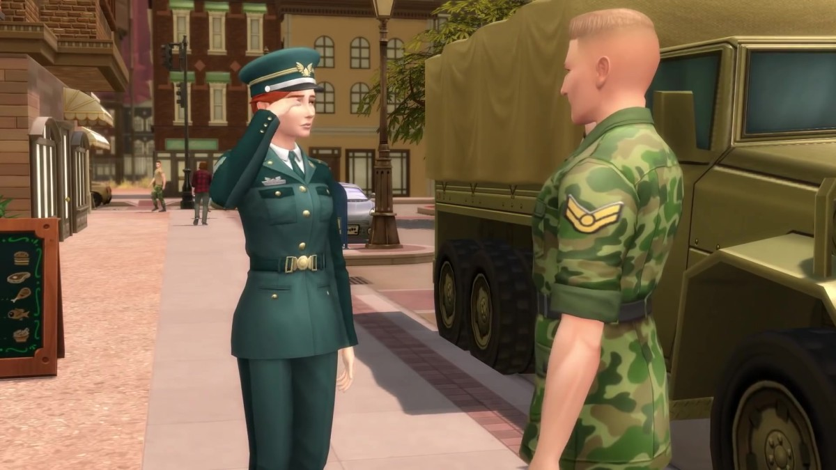 The Sims 4 Military Career