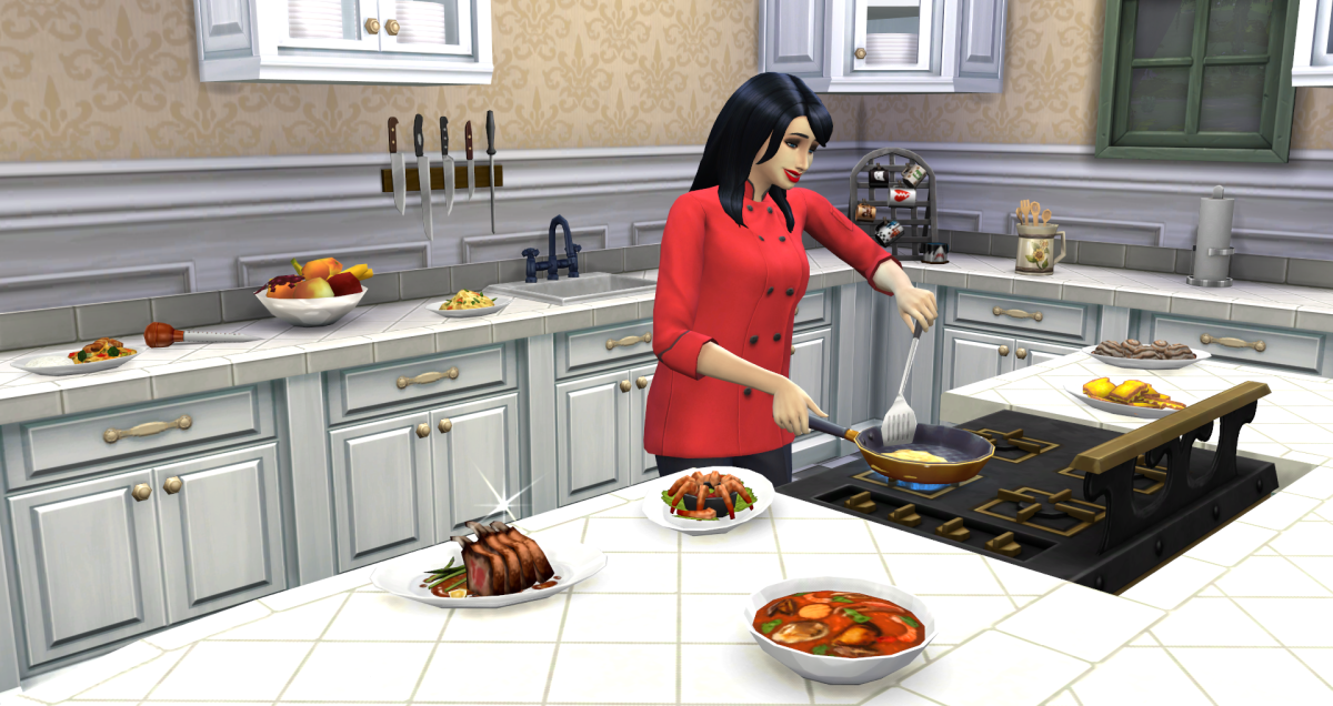 The Sims 4 Culinary Career