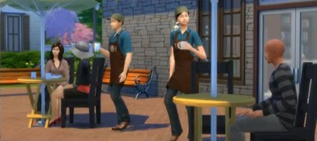 The Sims 4 Barista Job