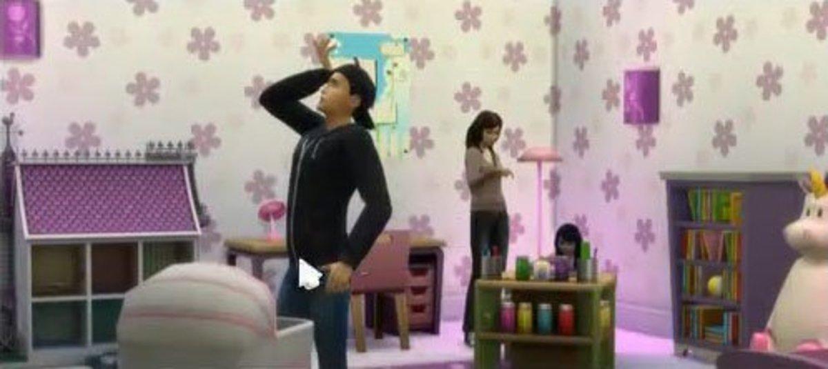 The Sims 4 Babysitter Job