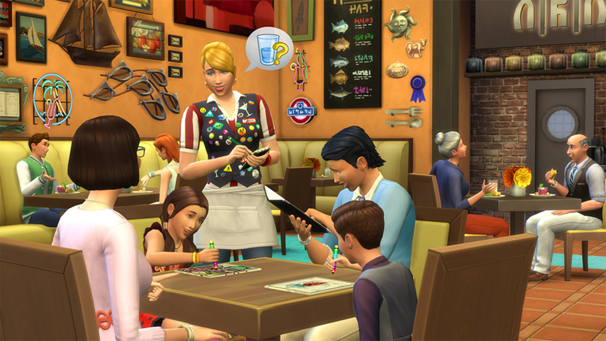 The Sims 4 Restaurant Business Career