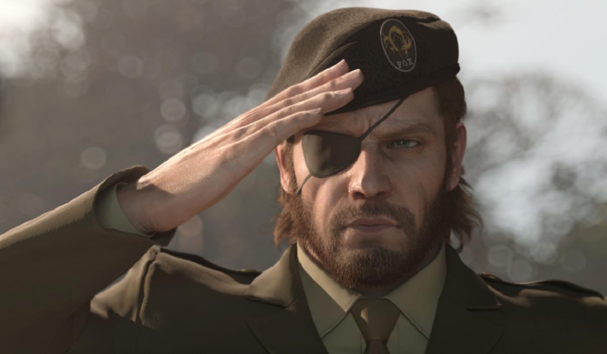 Big Boss in Metal Gear Solid 3