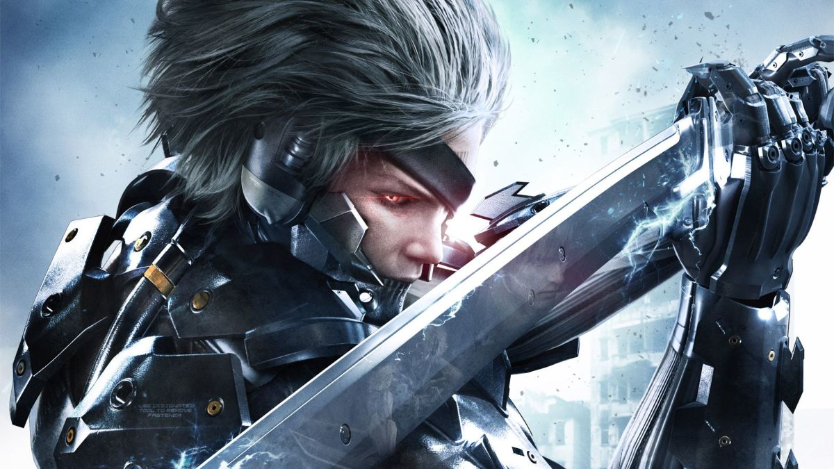 "Raiden in ""Metal Gear: Rising Revengeance"""