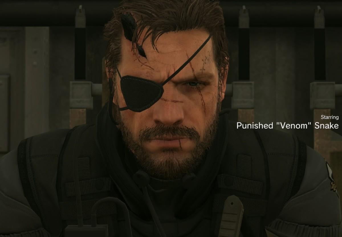 Venom Snake in Metal Gear Solid 5