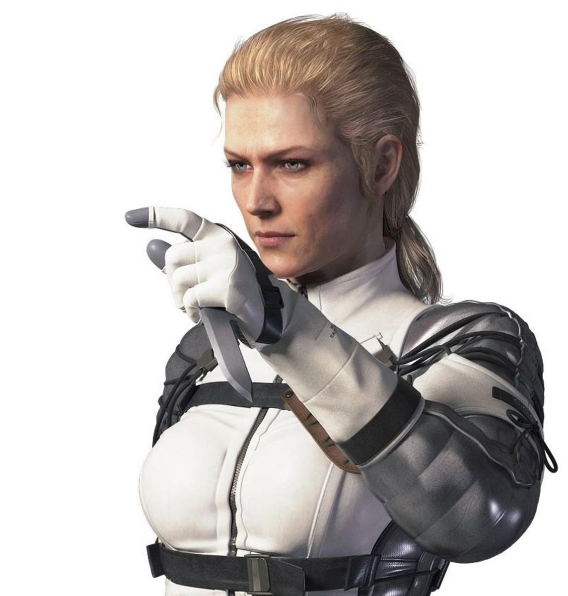 The Boss in Metal Gear Solid 3