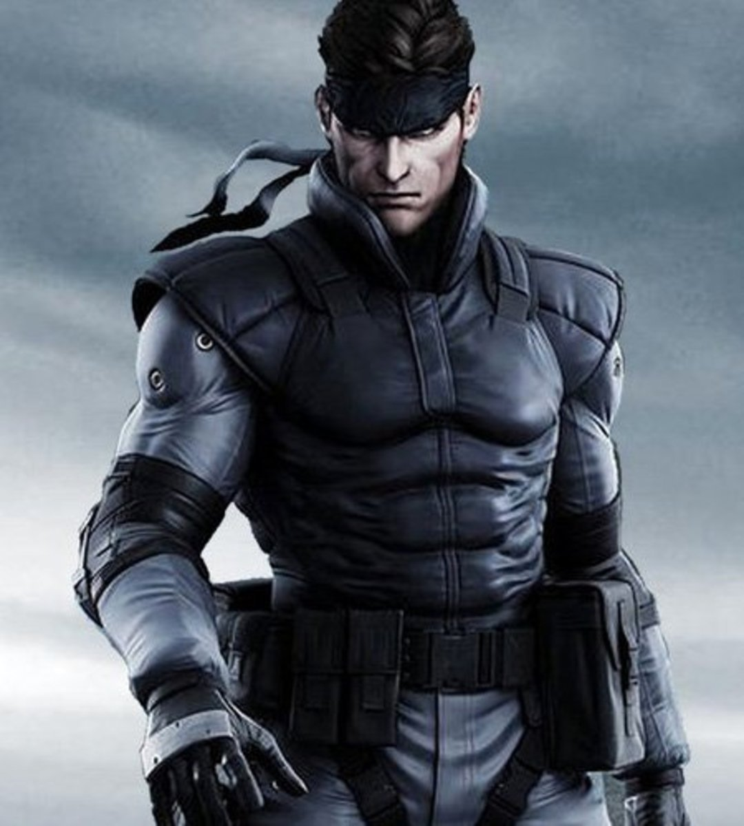 "Solid Snake in ""Metal Gear Solid 1"""