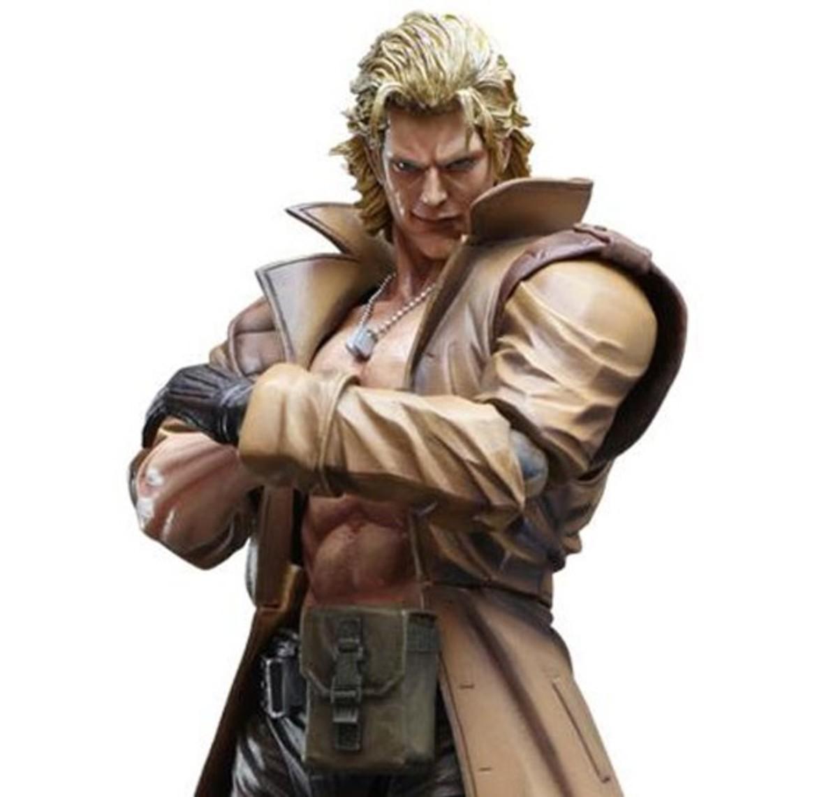 "Liquid Snake in ""Metal Gear Solid 1"""