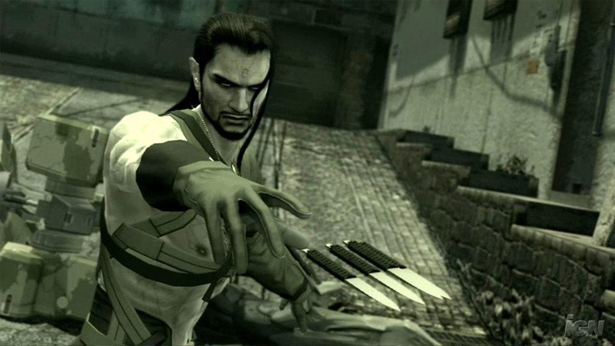 """Vamp in """"Metal Gear Solid 4"""""""