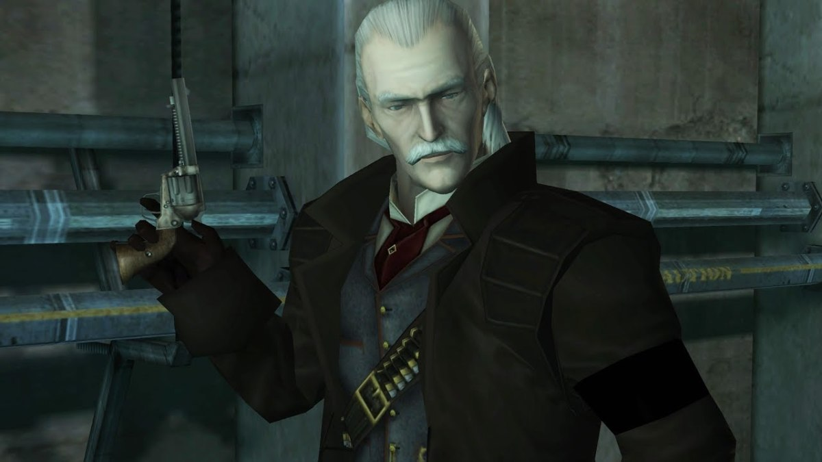 "Revolver Ocelot in ""Metal Gear Solid 1"""