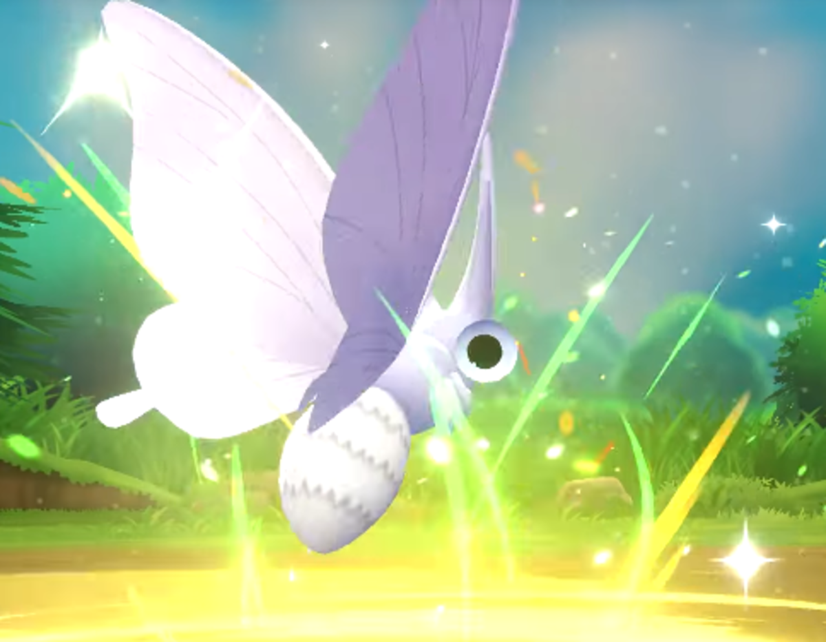 Venomoth using Quiver Dance