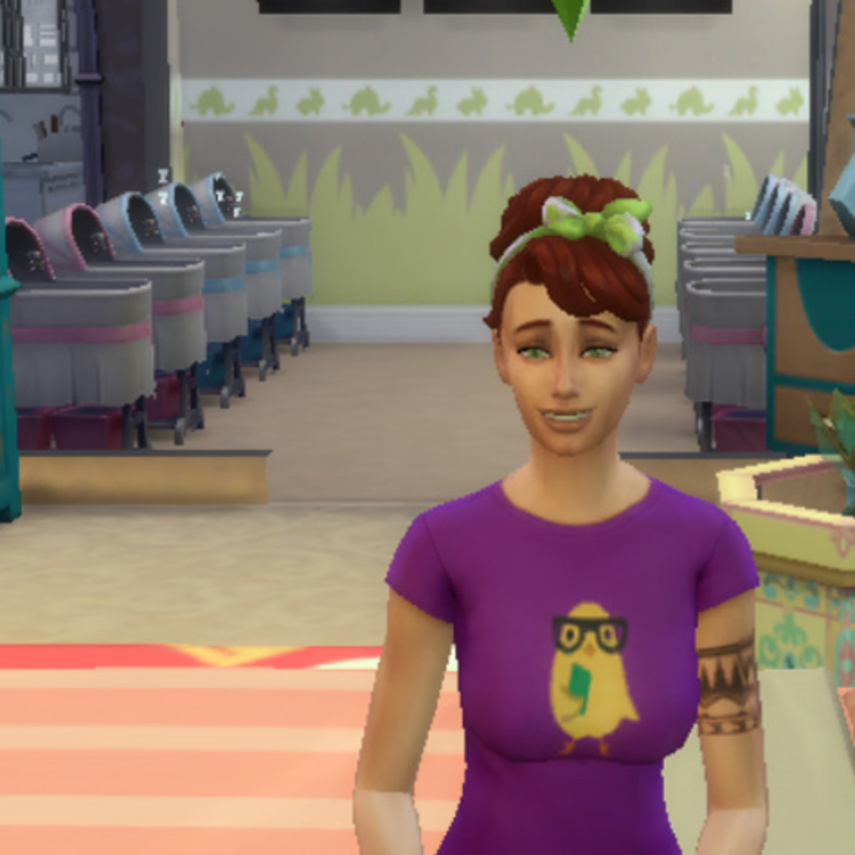 """""""The Sims 4"""" Game Gone Wrong: 10 Babies at Once!"""