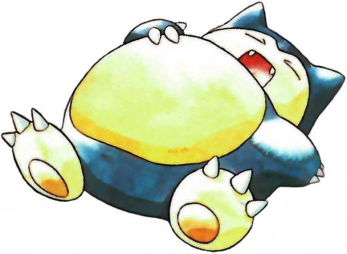 Snorlax using Rest