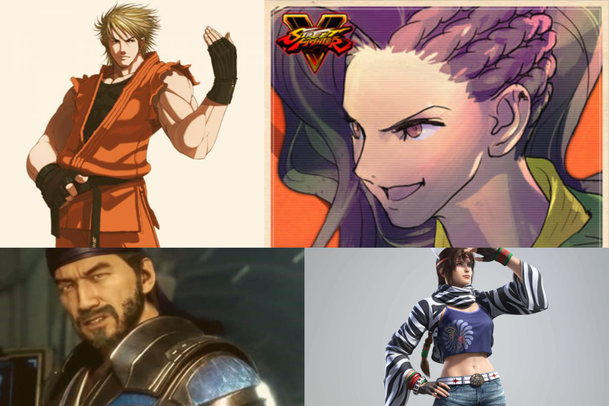 Representation: Mixed Heritage Fighting Game Characters Part 1