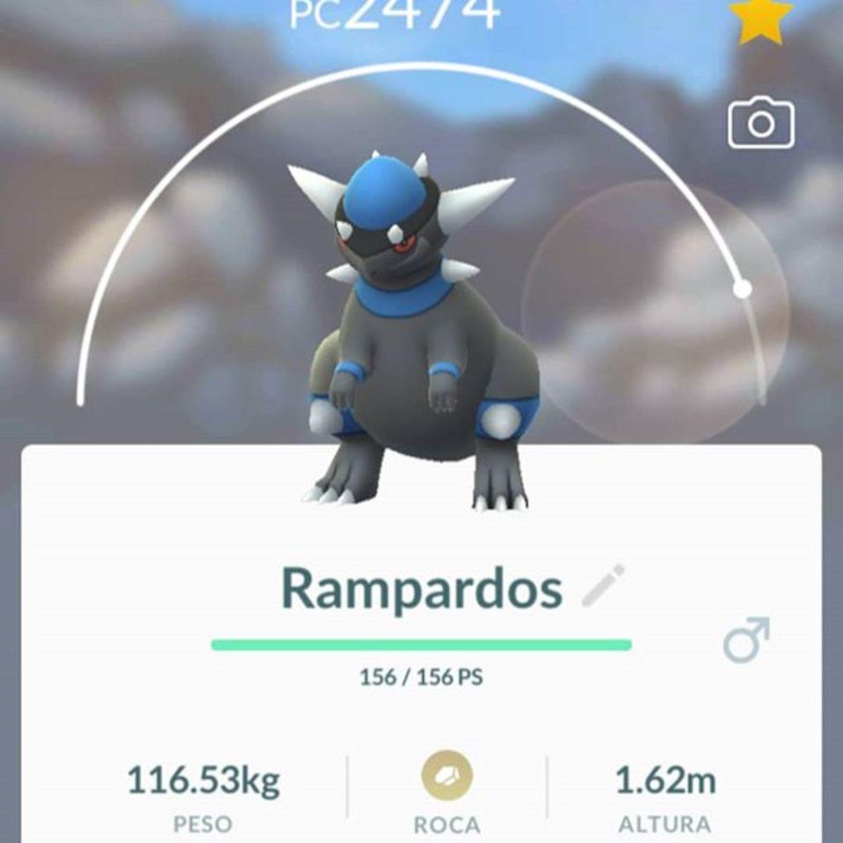 Rampardos in Pokemon GO