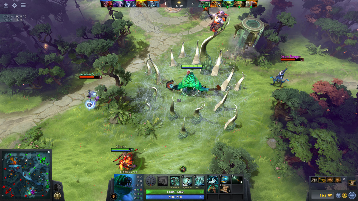 Every DOTA 2 game is a different experience.