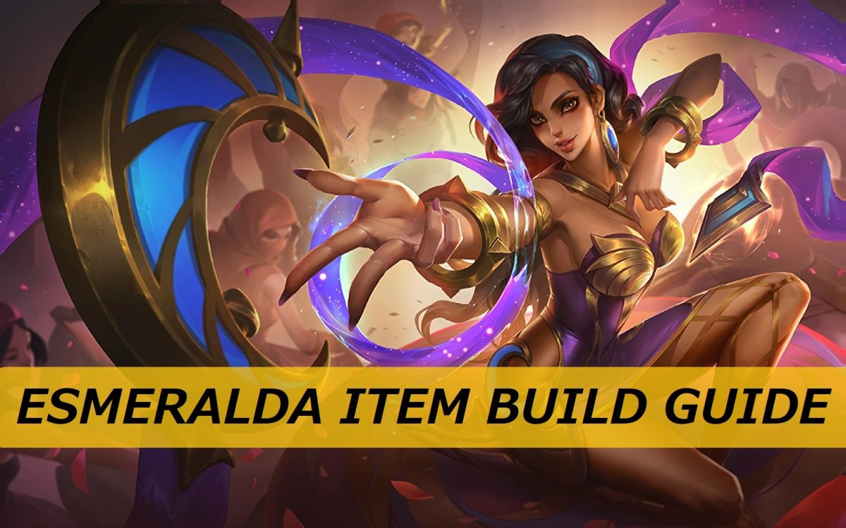 "Discover three item builds for Esmeralda in ""Mobile Legends: Bang Bang."""