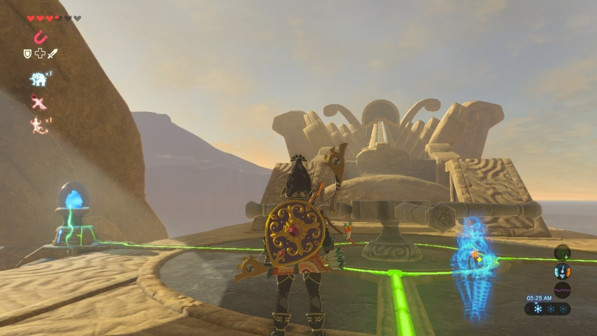 Divine Beast Vah Naboris Walkthrough For The Legend Of Zelda Breath Of The Wild Levelskip Video Games
