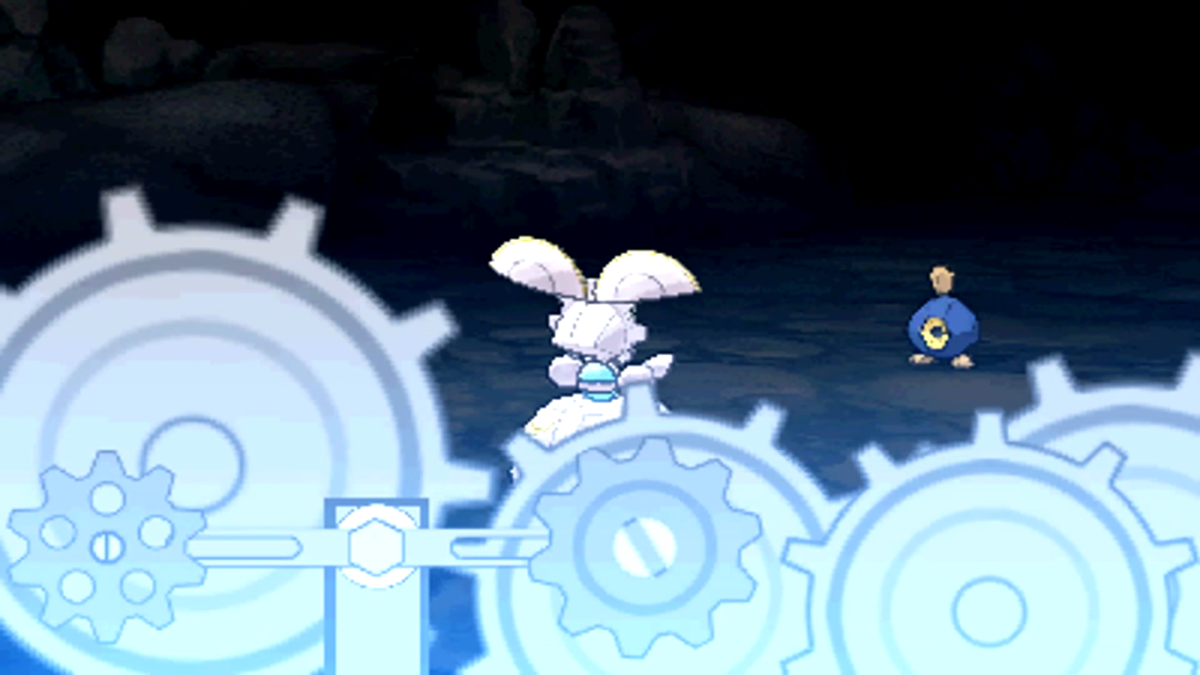 Magearna using Shift Gear
