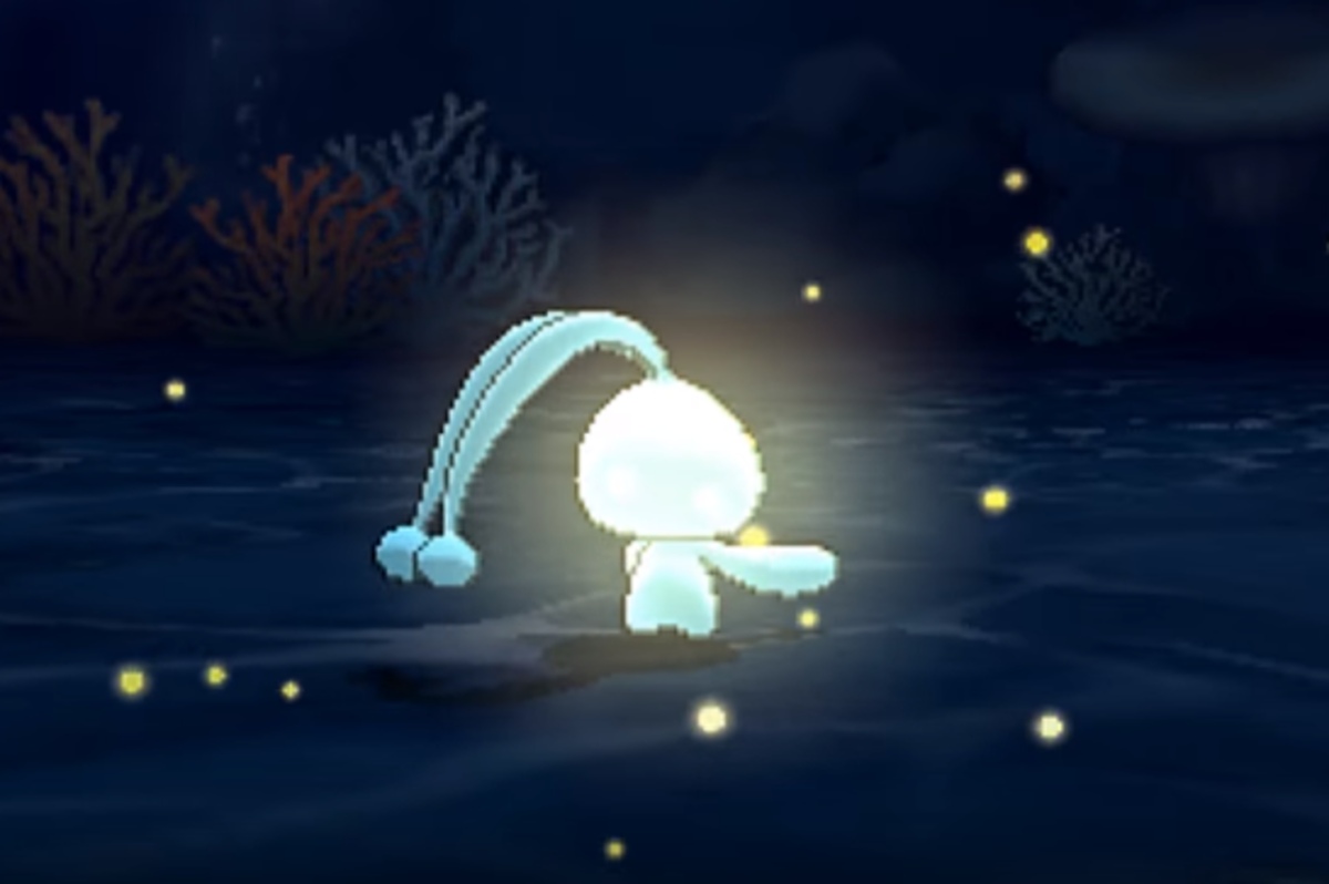 Manaphy using Tail Glow