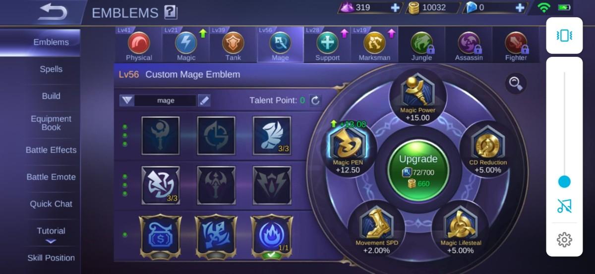 Level 54 Mage Emblem for Aurora