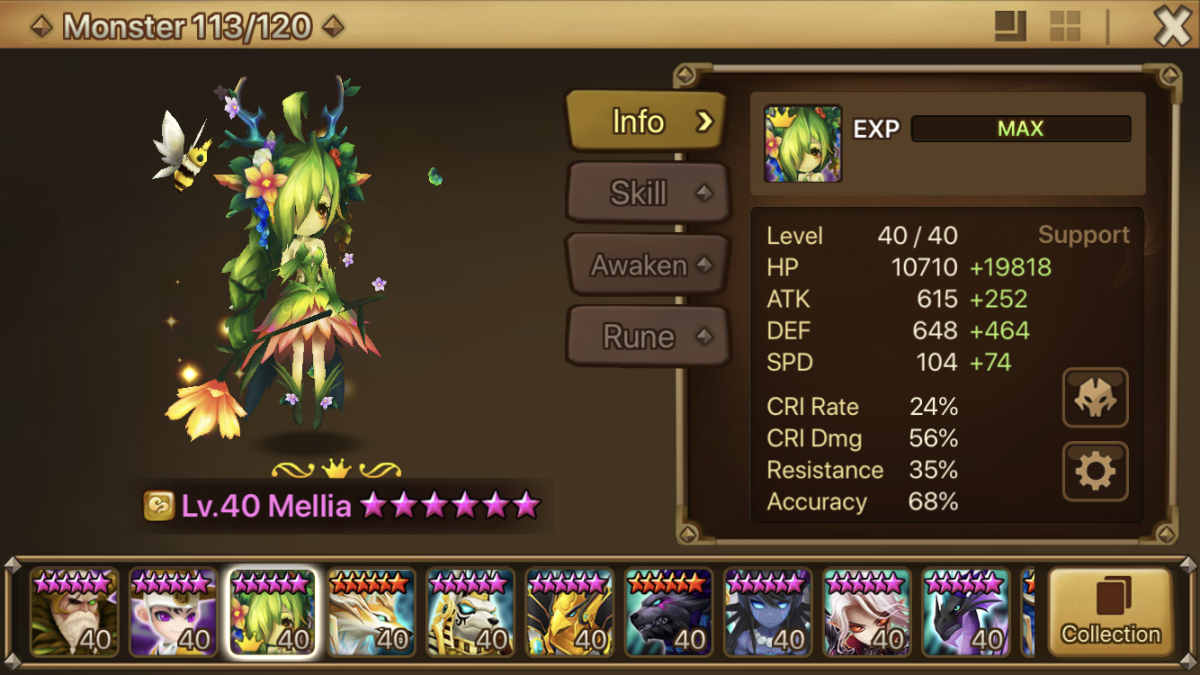 Mellia is new!