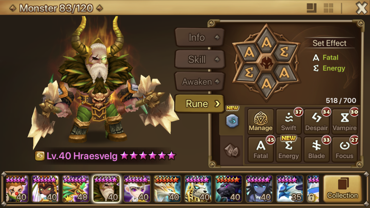 Hraesvelg is not the superior wind speedster, but he is still very useful!